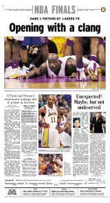 Lakers special section