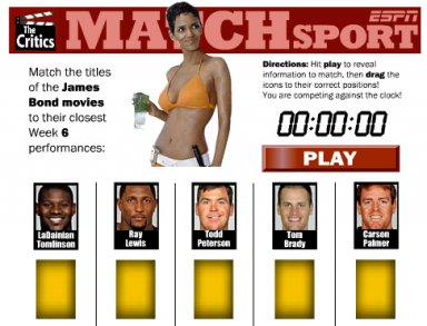 ESPN Matchsport Flash game
