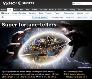 Photo illustration for Yahoo! Sports