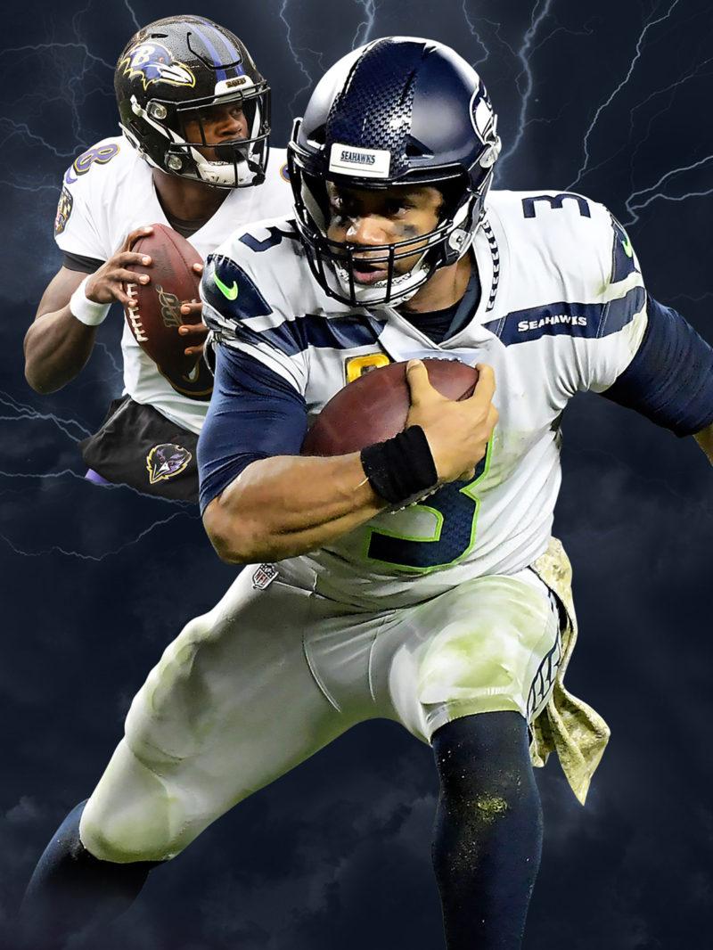 NFL power rankings illustration